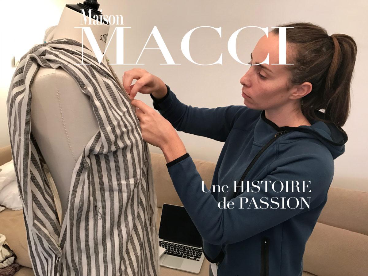 RENCONTRE AVEC MARIE, CREATRICE DE LA MAISON MACCI.